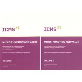 MUSIC: FUNCTION AND VALUE VOL. 1-2