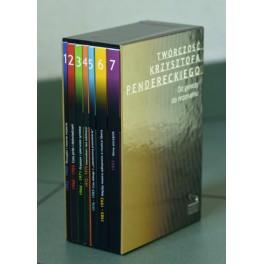 ETUI DO PUBLIKACJI TWÓRCZOŚĆ KRZYSZTOFA PENDERECKIEGO OD GENEZY DO REZONANSU T.1-7