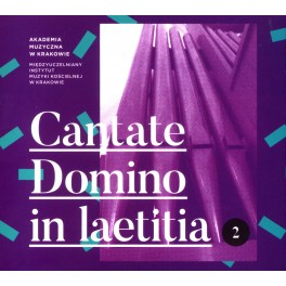 CANTATE DOMINO IN LAETITIA 2